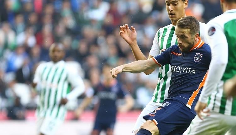 Atiker Konyaspor 0-1 Başakşehir maç özeti ve golü