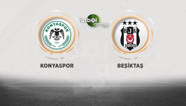 Atiker Konyaspor - Beşiktaş canlı izle - Atiker Konyaspor - Beşiktaş şifresiz izle (Konya - BJK beIN Sports canlı ve şifresiz izle)