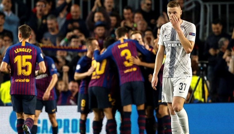 Barcelona 2-0 Inter maçın özeti ve golleri (24 Ekim Çarşamba Şampiyonlar Ligi maç özeti)