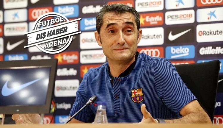 Barcelona'dan Valverde'ye tam destek