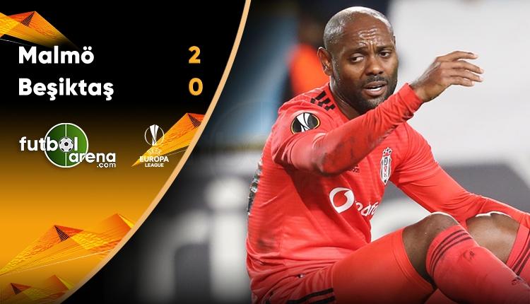 Malmö 2 - 0 Beşiktaş maçın özeti ve golleri