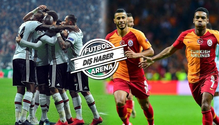 Beşiktaş'a 101, Galatasaray'a 74 milyon euro
