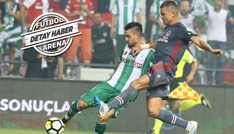 Beşiktaş, Konyaspor'a karşı kazanamıyor