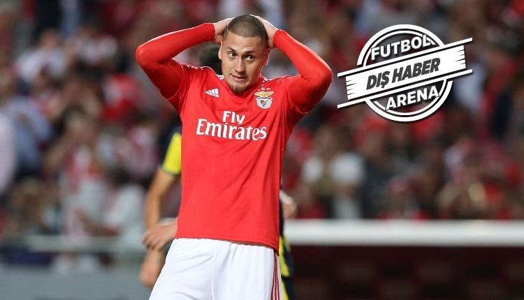 Beşiktaş'ın yeni gözdesi Benfica'dan Nicolas Castillo