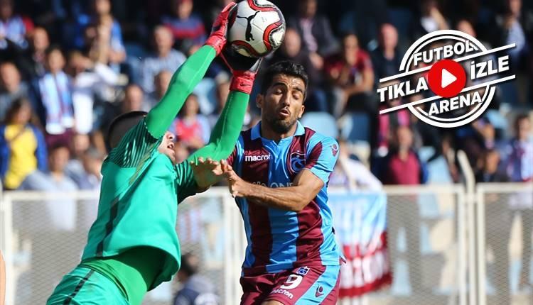 Buğsaşspor 0-2 Trabzonspor maçı özeti ve golleri (İZLE)