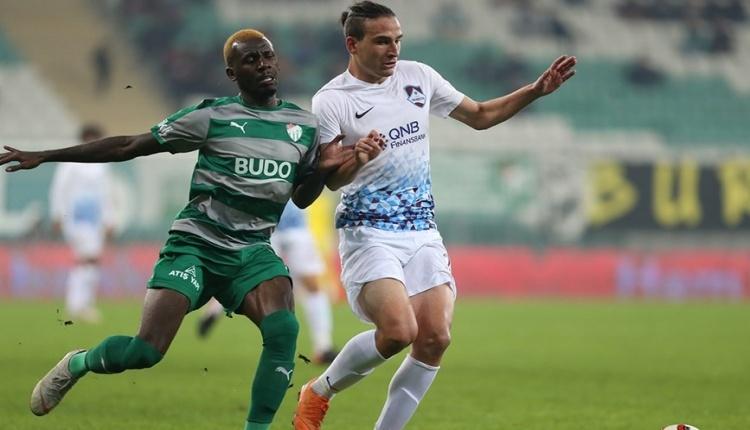Bursaspor: 1 - 1461 Trabzon: 2 maç özeti ve golleri izle