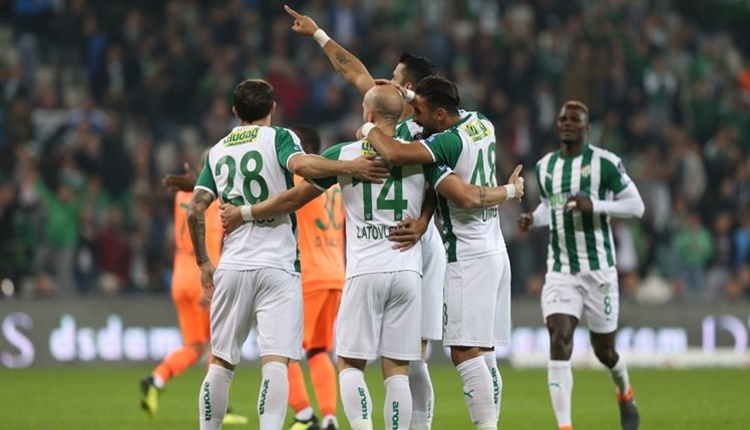 Bursaspor 2 - 0 Aytemiz Alanyaspor maçın özeti ve golleri