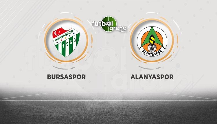 Bursaspor, Alanyaspor'u ağırlıyor! Muhtemel 11'ler