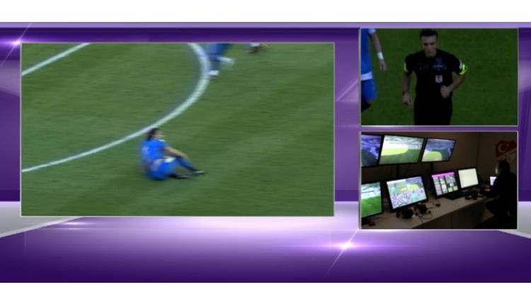 Bursaspor - Ankaragücü maçında Sakho'nun golüne VAR engeli
