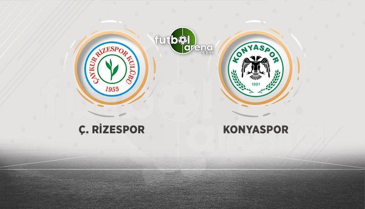 Çaykur Rizespor - Atiker Konyaspor beIN Sports canlı şifresiz izle (Çaykur Rizespor - Atiker Konyaspor CANLI)