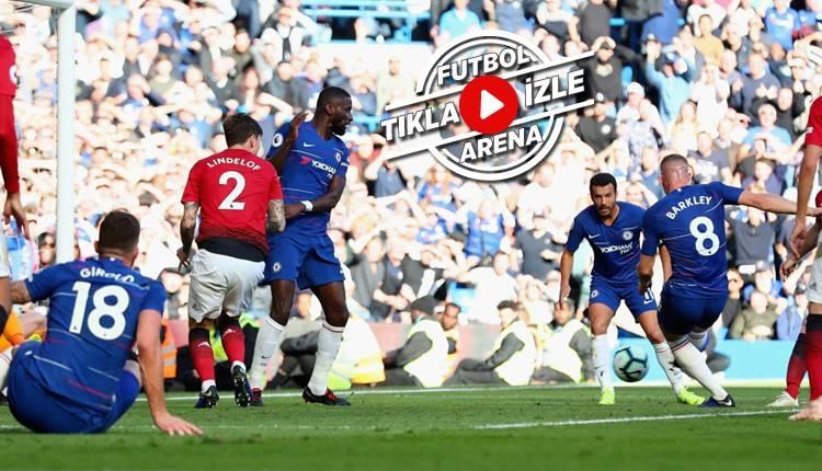 Chelsea 2-2 Manchester United maçı özeti ve golleri (İZLE)