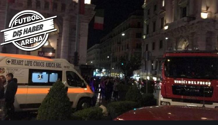 CSKA Moskova taraftarları Roma'da ölüm tehlikesi atlattı