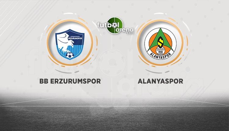 Erzurumspor - Alanyaspor beIN Sports canlı şifresiz izle (Erzurum Alanya CANLI)