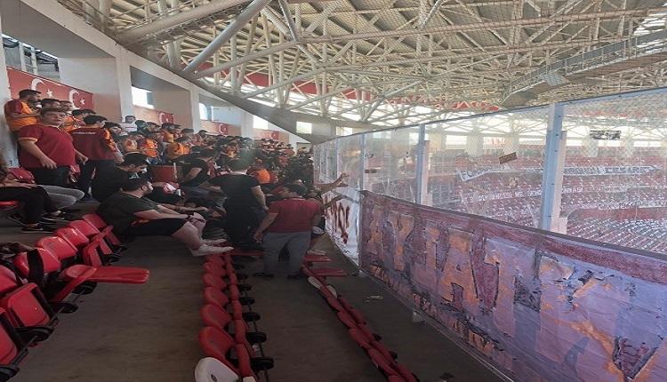 Fatih Terim ve ultrAslan'dan Antalya deplasman tribününe tepki