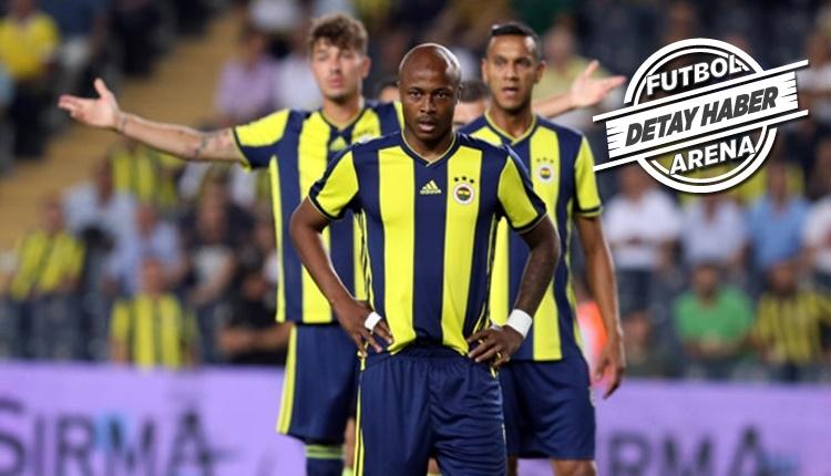 Fenerbahçe'de atılan goller dağıldı! Sadece Andre Ayew