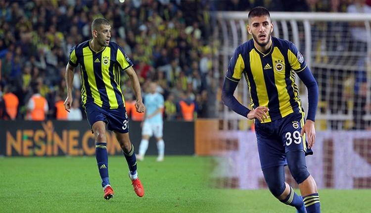 Fenerbahçe'de Slimani ve Benzia kadroda