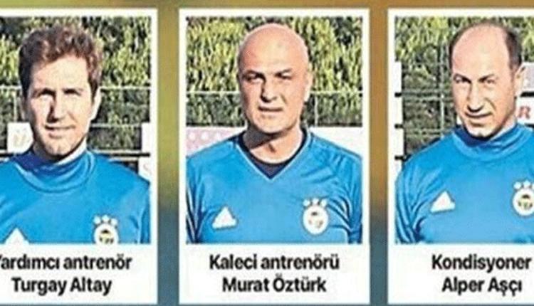 Fenerbahçe'den kovulan yardımcılardan ortak açıklama geldi!
