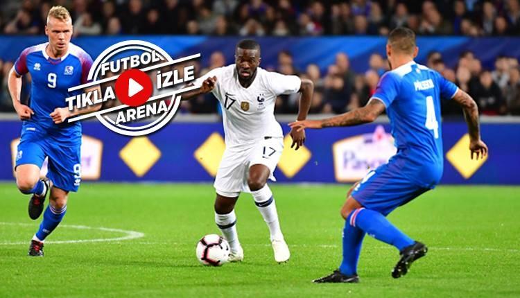 Fransa 2-2 İzlanda maçı özeti ve golleri (İZLE)