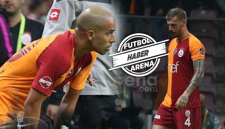 Galatasaray'da sakat oyuncularda son durum