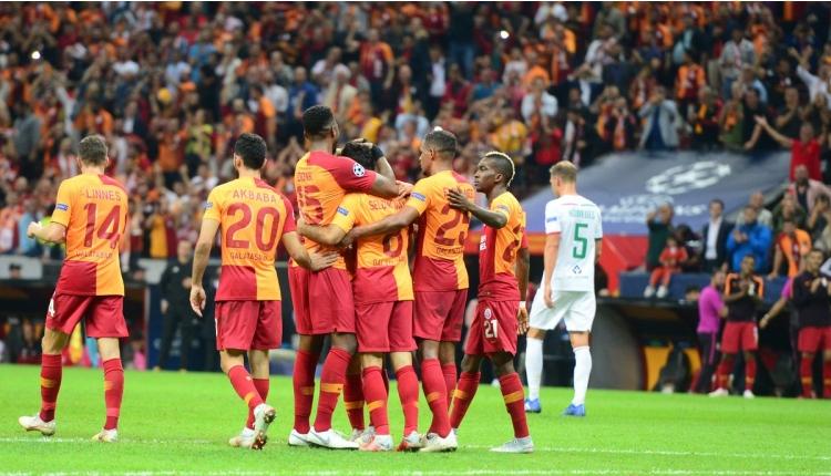 Galatasaray gollerde Fenerbahçe'yi katladı