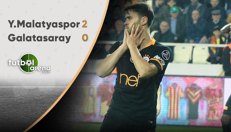 Yeni Malatyaspor 2 - 0 Galatasaray maçının özeti ve golleri