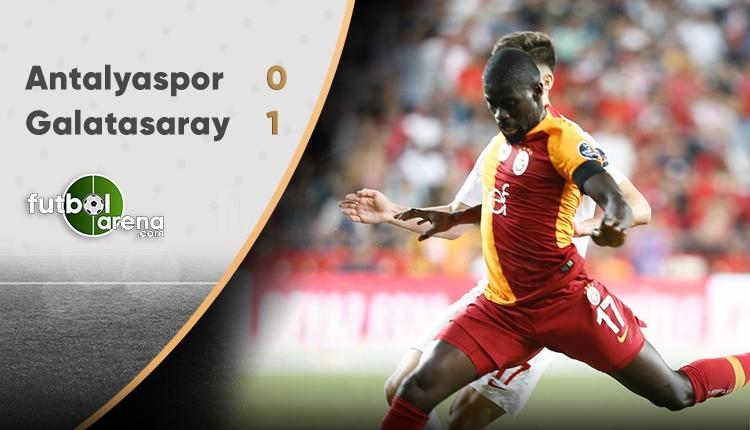 Antalyaspor 0 - 1 Galatasaray maçın özeti ve golü