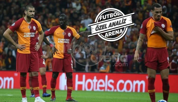 Galatasaray, Şampiyonlar Ligi'nde yine son sırada!
