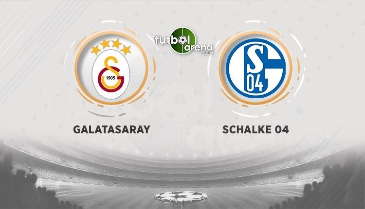 Galatasaray - Schalke canlı izle - Galatasaray - Schalke şifresiz izle (Galatasaray - Schalke hangi kanalda? - GS Schalke ücretsiz izle)