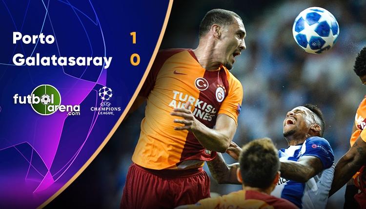 Porto 1 - 0 Galatasaray maçın özeti ve golleri (İZLE)