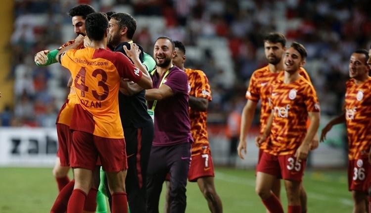 Galatasaray'da 2 aydan sonra gelen galibiyet!