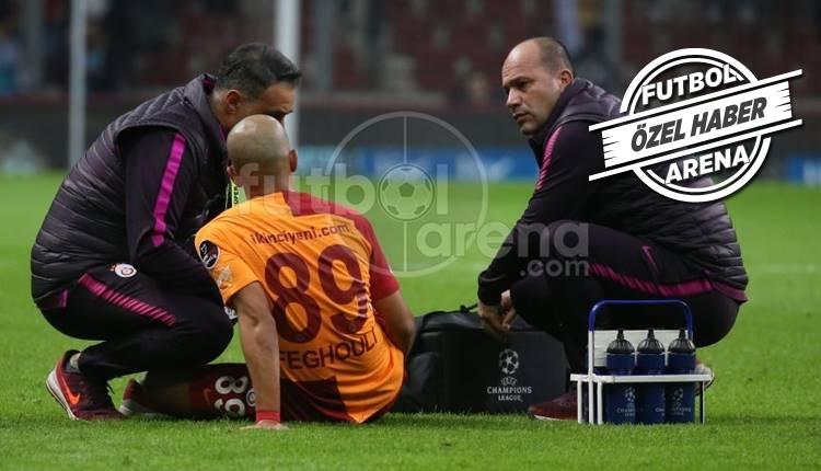 Feghouli ve Fernando Schalke maçında yok