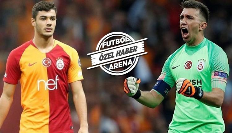 Galatasaray'da iki örnek isim! Muslera ve Ozan