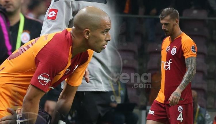 Galatasaray'da Fernando, Serdar Aziz ve Feghouli şoku
