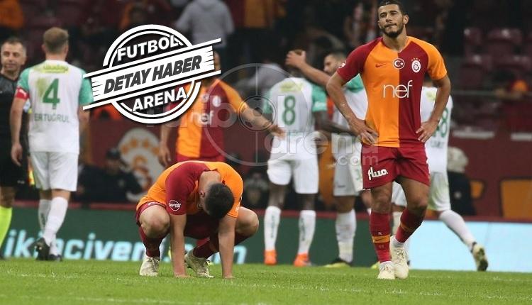 Galatasaray'ın en kısır 90 dakikası Bursaspor maçı