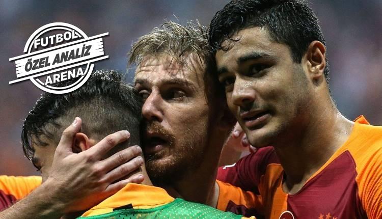 Galatasaray'ın farkı savunma!