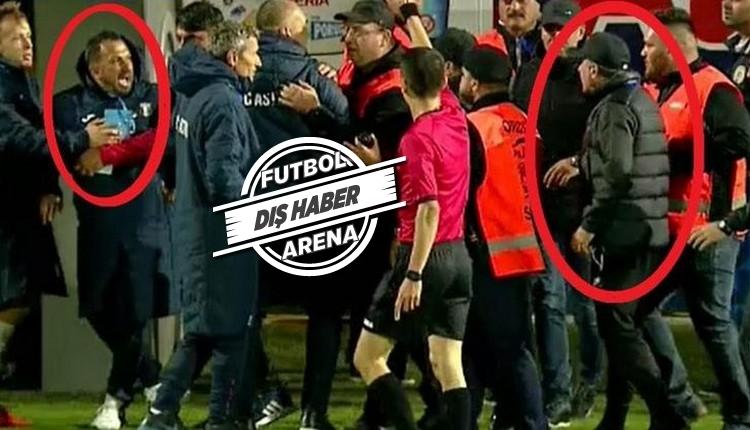 Gheorghe Hagi, Türk antrenörle kavga etti