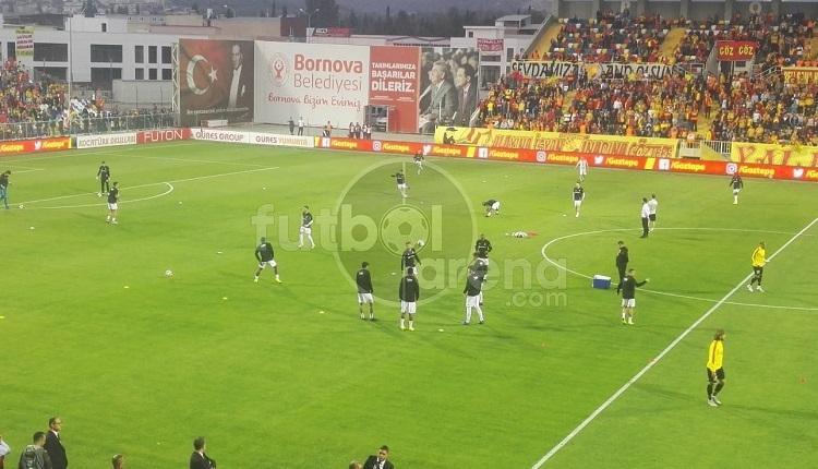 Göztepe'de, Beşiktaş maçı öncesi iki futbolcu arasında tartışma