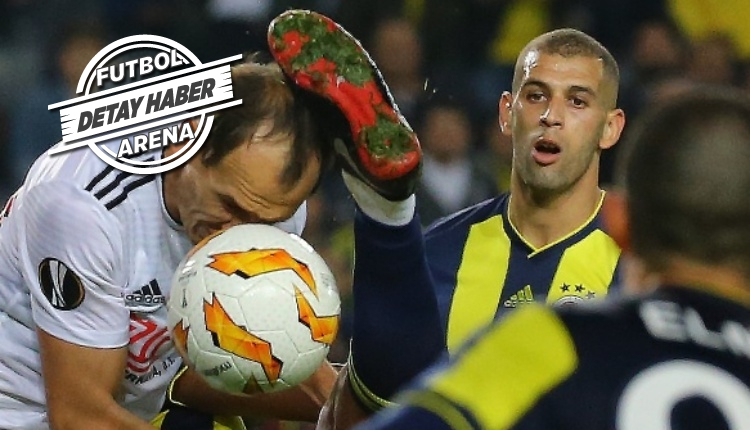 Islam Slimani, Avrupa Ligi'nde uzun bir aradan sonra golle tanıştı