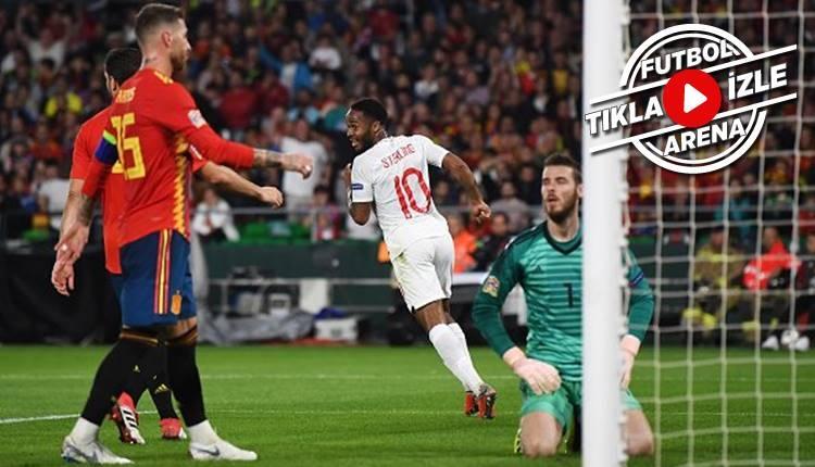 İspanya 2-3 İngiltere maçı özeti ve golleri (İZLE)