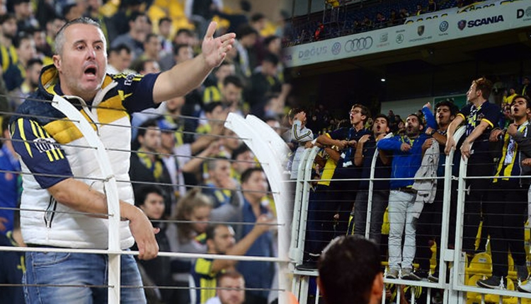 Kadıköy'de maç bitti taraftar gitmedi! Yoğun protesto