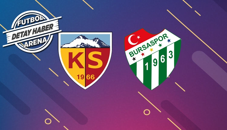 Kayserispor ve Bursaspor transferde Süper Lig'e damga vurdu