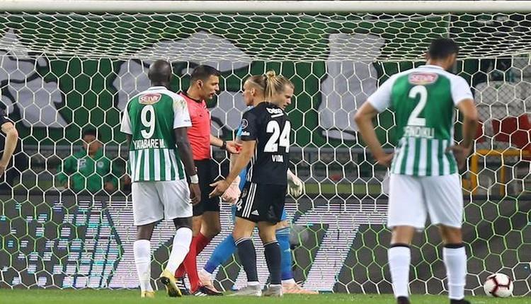 Konyaspor - Beşiktaş maçının hakemi Ümit Öztürk'ten itiraf