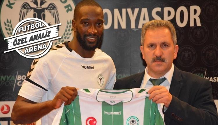 Konyaspor'da Yatabare'nin ilginç istatistiği! Bir iyi bir kötü