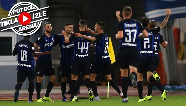 Lazio 0-3 İnter maçı özeti ve golleri (İZLE)