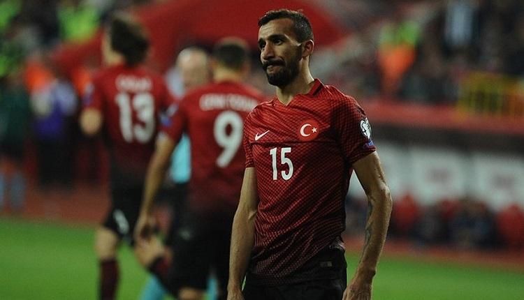 Mehmet Topal Milli takım kadrosundan çıkarıldı