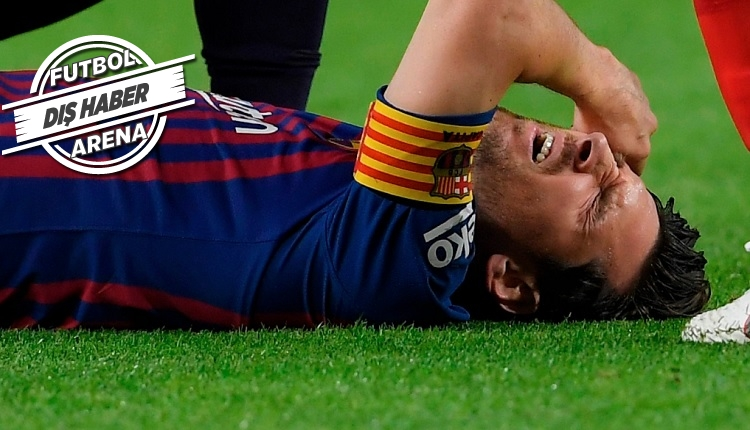 Messi sakatlandı! 3 hafta sahalardan uzak kalacak