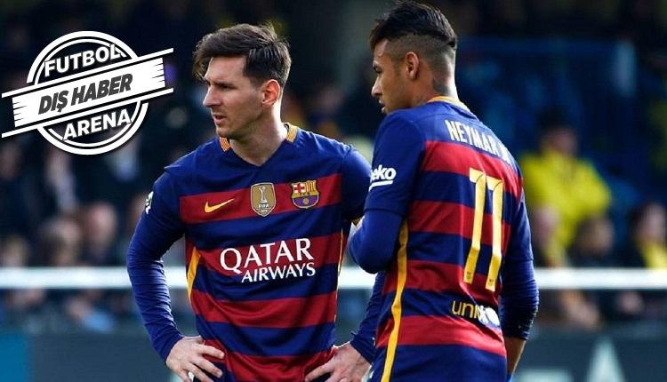 Messi'den Neymar'a: