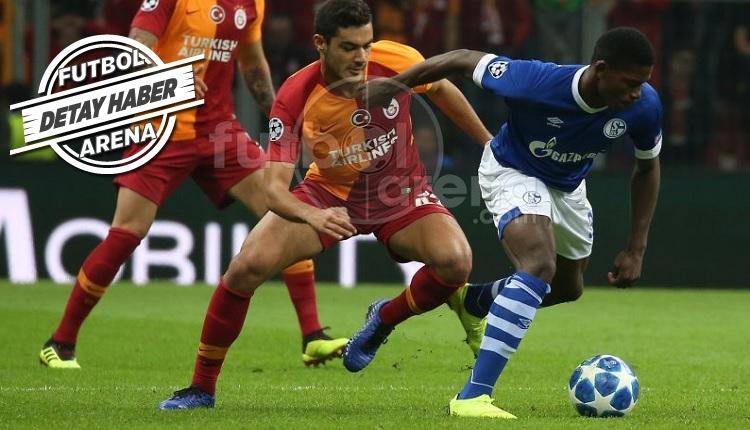 Ozan Kabak Galatasaray - Schalke maçında tarihe geçti