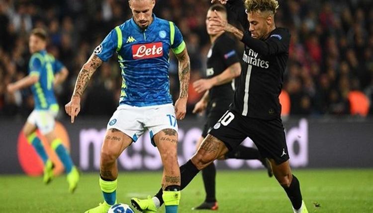 Paris Saint Germain 2-2 Napoli maçın özeti ve golleri (24 Ekim Şampiyonlar Ligi maç özetleri izle)