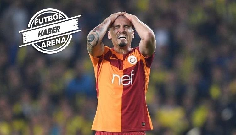 Porto taraftarlarından Galatasaraylı Maicon'a protesto